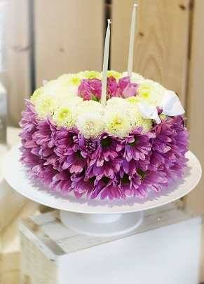 """Игрушка из цветов """"Торт"""" art.24-56"""