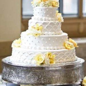 Оформление свадебного торта 28-35