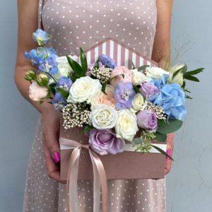 Цветы в коробке Art.12 015