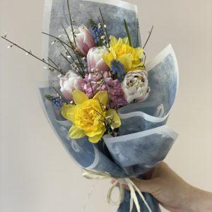 Букет из тюльпанов Art.13 60