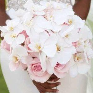 Букет невесты из роз и орхидей art.05-75