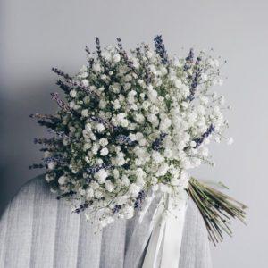 Зимний букет невесты art.05-60