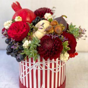 Корзина с цветами Art.02 80