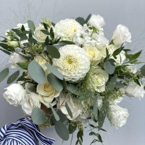 Белый букет невесты art. 05-075