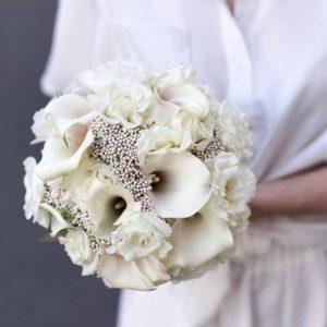 Букет невесты с каллами art. 05-119