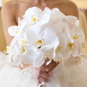 Букет невесты из орхидей art.05-07
