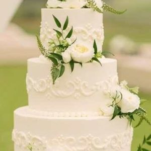 Оформление свадебного торта 28-14