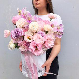 Цветы в шляпной коробке Art.12 016