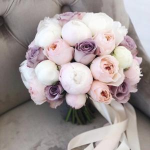 Букет невесты с пионовидными розами Art. 05 146