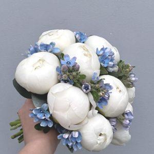 Букет невесты белый Art.05 85