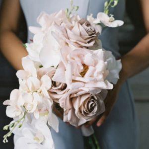 Букет невесты сиреневый Art.05 42