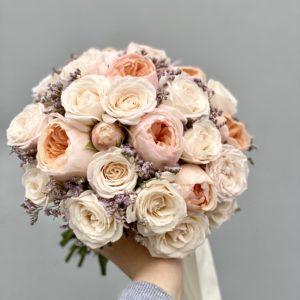 Букет невесты с пионовидными розами Art. 05 11
