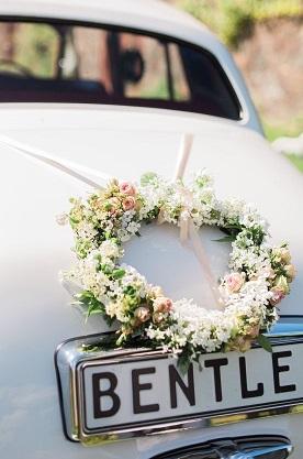 Оформление свадебного авто Art.07 42