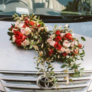 Оформление свадебного авто Art.07 44