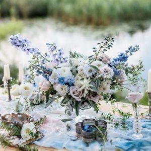 Свадебная композиция на стол art.11-40