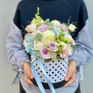 Цветы в коробке Art.12 011