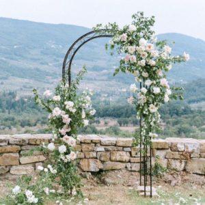 Арка из цветов на свадьбу Art.08 04