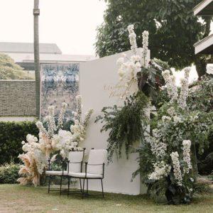 Арка из цветов на свадьбу Art.08 12