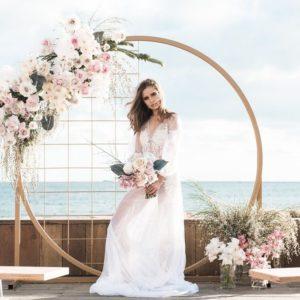 Арка из цветов на свадьбу Art.08 13