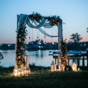 Арка из цветов на свадьбу Art.08 16