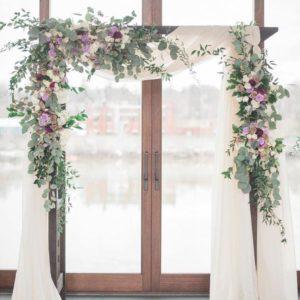 Арка из цветов на свадьбу Art.08 24