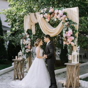 Арка из цветов на свадьбу Art.08 25