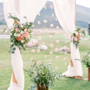 Арка из цветов на свадьбу Art.08 33