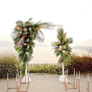 Арка из цветов на свадьбу Art.08 35