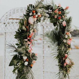 Арка из цветов на свадьбу Art.08 37