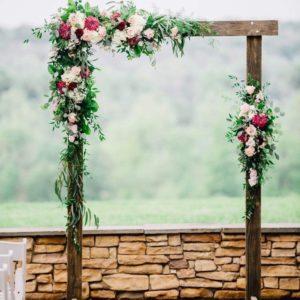 Арка из цветов на свадьбу Art.08 39