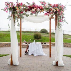 Арка из цветов на свадьбу Art.08 41