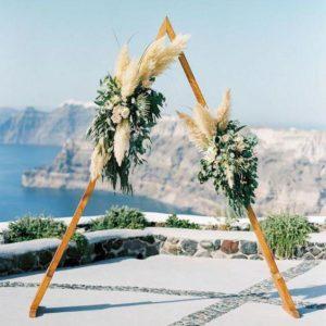 Арка из цветов на свадьбу Art.08 43