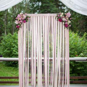 Арка из цветов на свадьбу Art.08 44