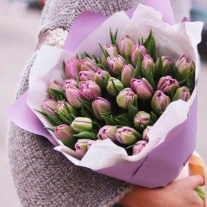 Букет из тюльпанов art. 01-10