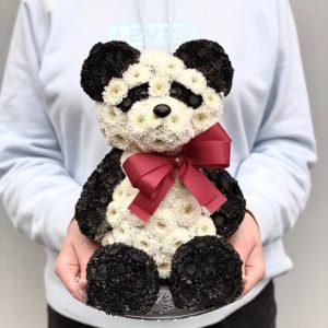 """Игрушка из цветов """"Панда"""" Art.24 32"""