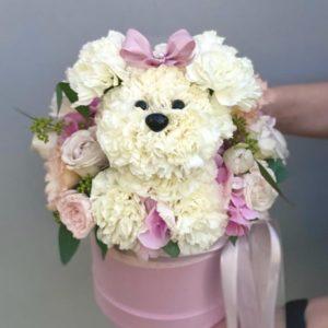 """Игрушка из цветов """"Собака"""" Art.24 40"""