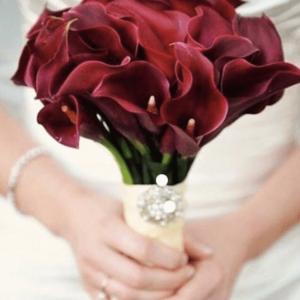 Букет невесты марсала Art.05 95