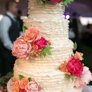 Оформление свадебного торта 28-18