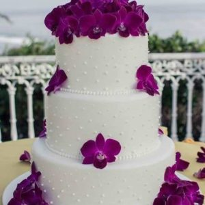 Оформление свадебного торта 28-19