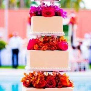 Оформление свадебного торта 28-21