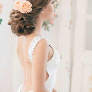 Цветы в прическу невесты art.06-94