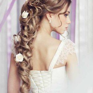 Цветы в прическу невесты art.06-93