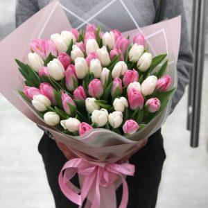 Букет из тюльпанов Art.01 05