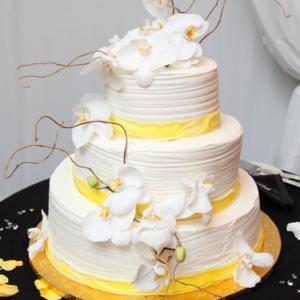 Оформление свадебного торта 28-27