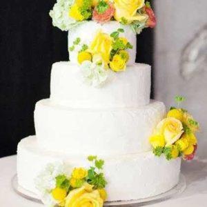 Оформление свадебного торта 28-23