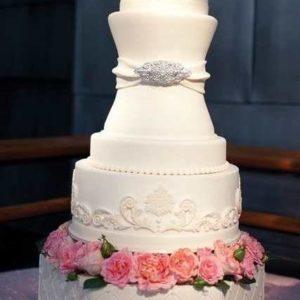 Оформление свадебного торта 28-25