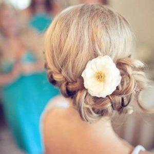 Цветок в прическу невесты art.06-38
