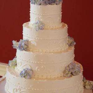 Оформление свадебного торта 28-37