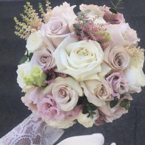 Букет невесты с розами Мента art. 05-138