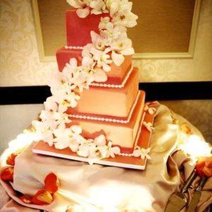 Оформление свадебного торта 28-30